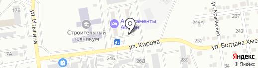 Очаг, ТСЖ на карте Абакана