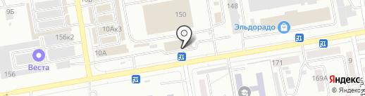 Ящик Инструмента на карте Абакана