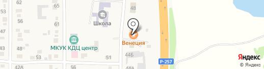 Калинка на карте Калинино