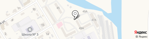 Почтовое отделение №2 на карте Усть-Абакана