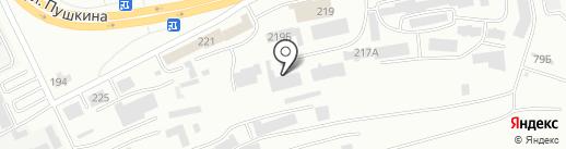 Экополис на карте Абакана