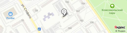 Инесса на карте Абакана