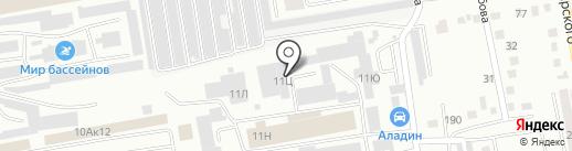ШинТрейд на карте Абакана
