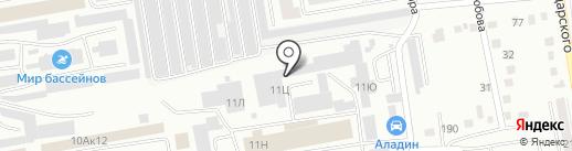 СибТехноСтрой на карте Абакана