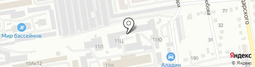Автомастер19 на карте Абакана