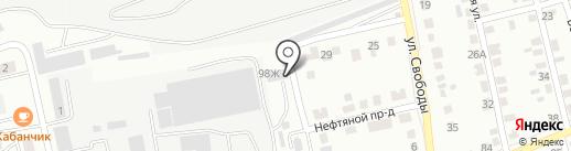 Zenit на карте Абакана