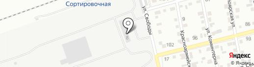 ВЭЙ-ГРУПП на карте Абакана