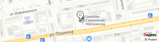 Храм Святителей Московских на карте Абакана