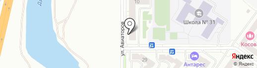 Магазин душевых кабин и ванн на карте Абакана