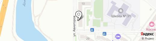 Nirvana на карте Абакана