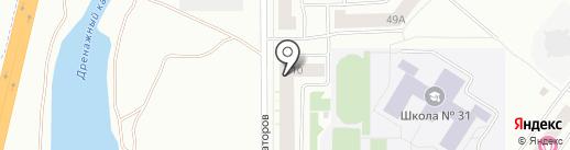 Авиатор на карте Абакана
