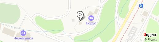 Храм Вознесения Господня на карте Черёмушек