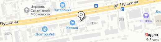 ТоргСервис на карте Абакана