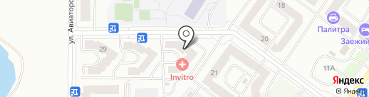 Оламур на карте Абакана