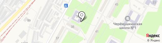 Библиотека для семьи на карте Черёмушек
