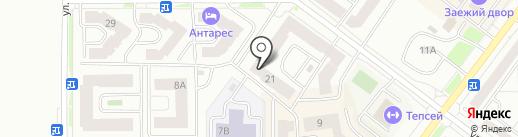 Конкрит-транс на карте Абакана