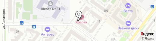 Магазин офисных стульев и кресел на карте Абакана
