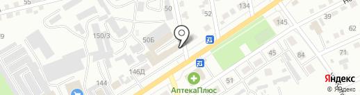 RENAULT на карте Абакана
