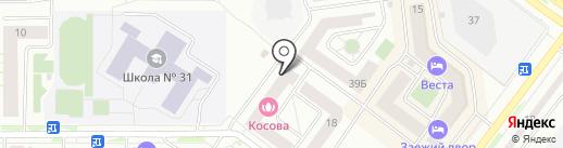 Санрайз на карте Абакана