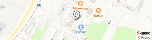 Калейдоскоп на карте Черёмушек