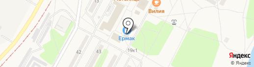 Визави на карте Черёмушек