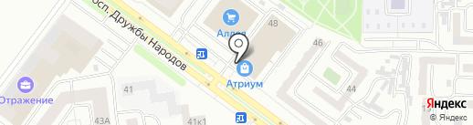 Профсоюз на карте Абакана