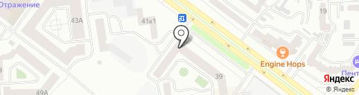 Фигуристая Я на карте Абакана