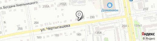 Кредо на карте Абакана