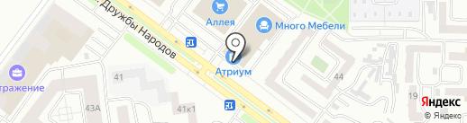 Интердизайн на карте Абакана