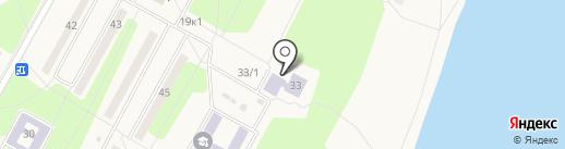 Черемушкинская детская школа искусств на карте Черёмушек