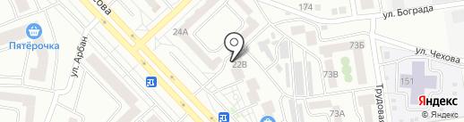Магазин б/у бытовой техники на карте Абакана