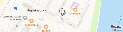 Техномаг на карте Черёмушек