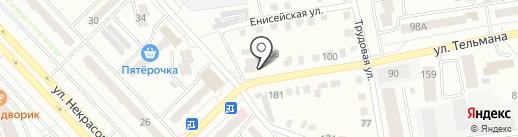 Котлета на карте Абакана