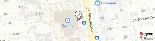ЧЕРНОГОРСК МЕБЕЛЬ на карте Абакана