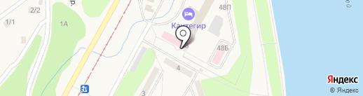 Саяногорская городская поликлиника р.п. Черемушки на карте Черёмушек