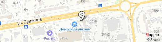 AUTOРАЙ на карте Абакана
