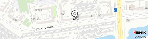 Comedy Radio, FM 100.9 на карте Абакана