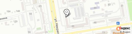 Идеал на карте Абакана
