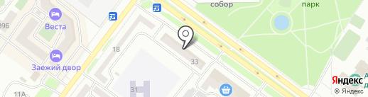 Банкомат, Банк ВТБ 24, ПАО на карте Абакана
