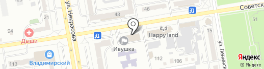 ARTSHOW Юлии Варлашкиной на карте Абакана