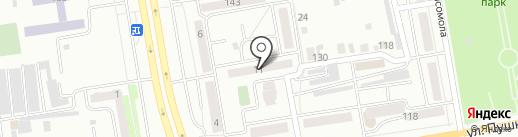 Камея на карте Абакана