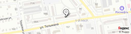 Адвокатские кабинеты Шоева Ю.В. и Чуприна И.И. на карте Абакана