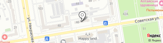 Двери Белоруссии на карте Абакана