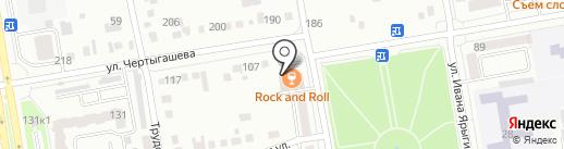 ДЭФО-Абакан на карте Абакана