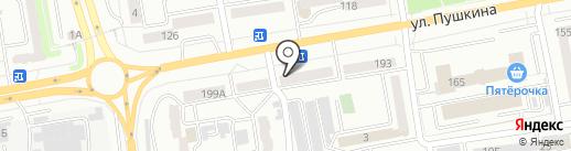 Линда на карте Абакана
