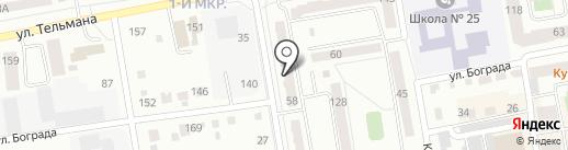 Стрижка на карте Абакана