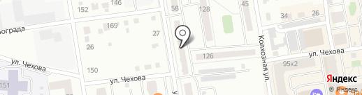 Гостиный двор на карте Абакана