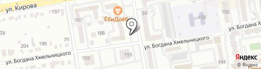 М-32 на карте Абакана