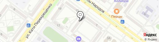 Торгово-ремонтная компания на карте Абакана