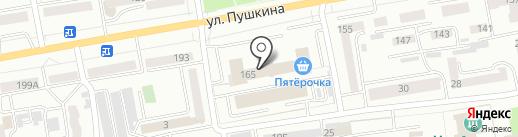 Сбербанк, ПАО на карте Абакана